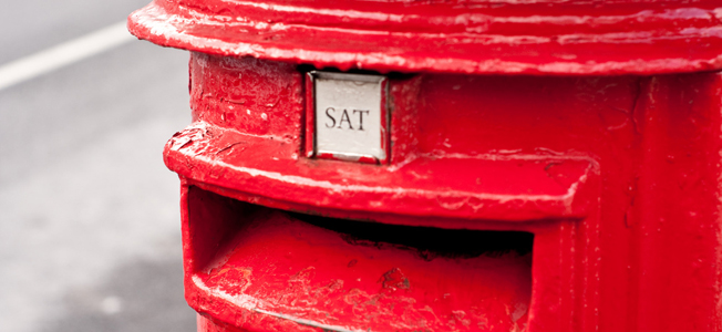 Post box image by adambowie