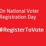#RegisterToVote