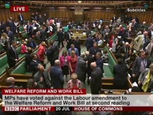 Welfare reform and work bill