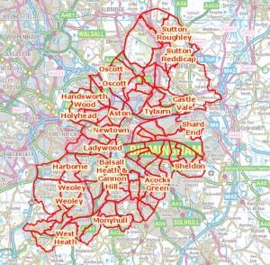 Birmingham Boundaries